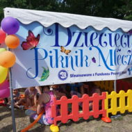 Dziecięcy Piknik Mleczny w Czarnkowie