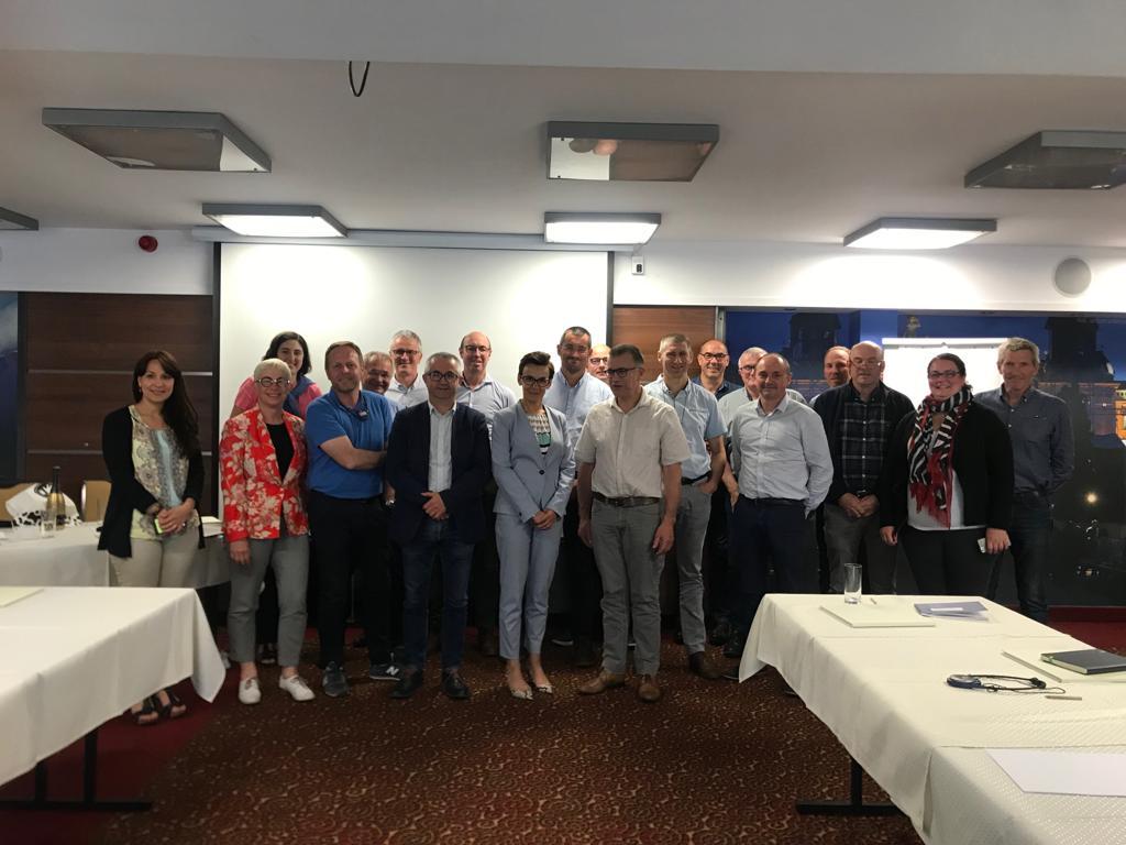 Dyrektor PIM na spotkaniu z przedstawicielami Coop de France