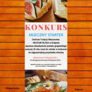 "Konkurs kulinarny ""Mleczny starter"" pod patronatem Polskiej Izby Mleka"