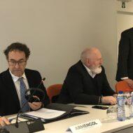 Agnieszka Maliszewska na spotkaniu z Wiceprzewodniczącym Komisji Europejskiej, Frans'em Timmermans'em